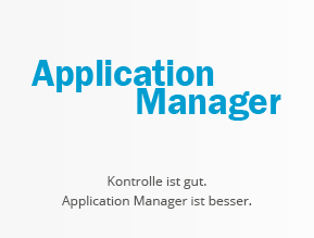 Application Manager für Software Management